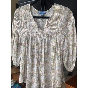 Dil peasant top size XS